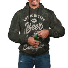 Load image into Gallery viewer, Life Better with Beer & Campfire Hoodie - Perfenq