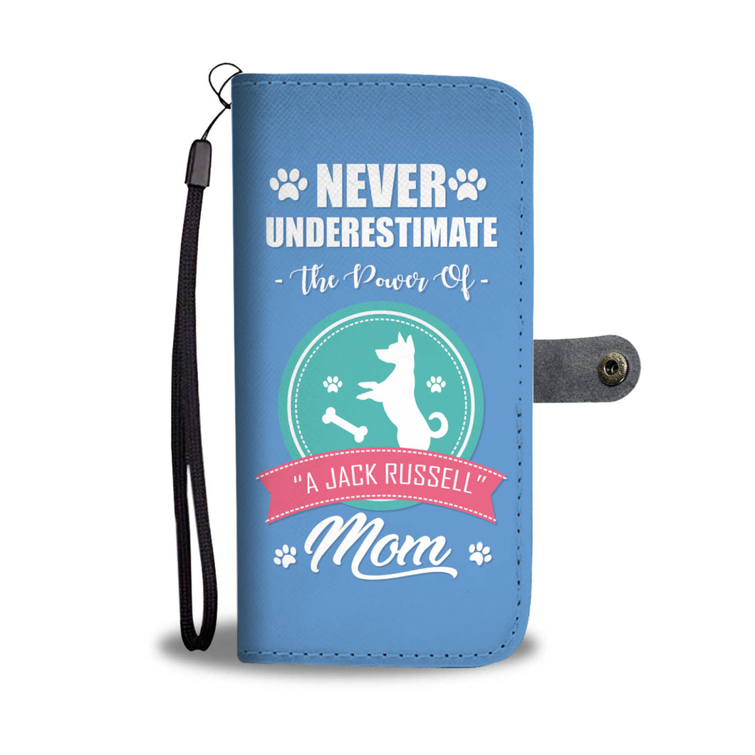 Jack Russell Mom Phone Wallet Case