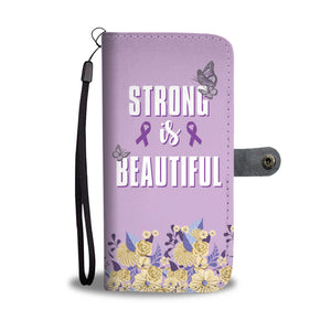 Strong and Beautiful Custom Phone Wallet Case For Women