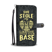 Load image into Gallery viewer, She Stole My Heart Phone Wallet Case
