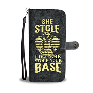 She Stole My Heart Phone Wallet Case
