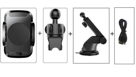 Image of Smart Car Mount with Wireless Charging