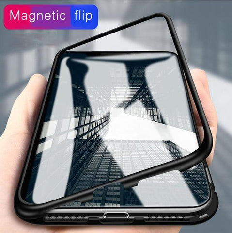 Magnetic Adsorption Case for iPhone XR, iPhone XS & XS MAX - Perfenq