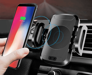 Smart Car Mount with Wireless Charging - Perfenq