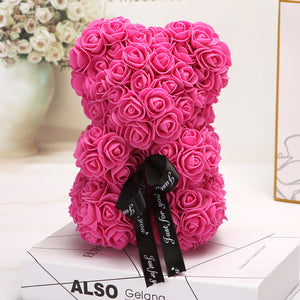 Rose Teddy Bear - Perfenq
