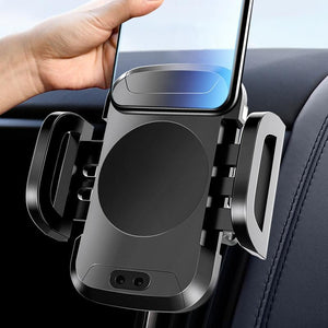 Smart Car Mount with Wireless Charging