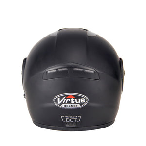 Flip Up Dot Certified helmet - 2019 Edition - Perfenq