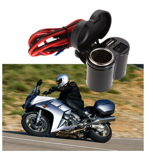 Universal Motorcycle USB Charger with Switch