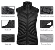 Load image into Gallery viewer, USB Heated Vest (Trending Now) - Perfenq