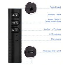 Load image into Gallery viewer, Bluetooth Aux 3.5mm Jack - Perfenq