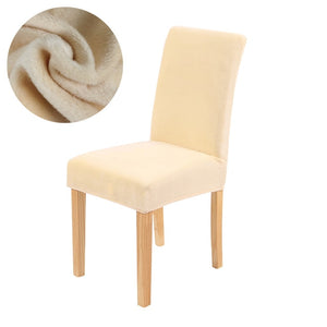 Warm & Fluffy Universal Chair Covers - Perfenq