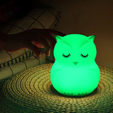 Load image into Gallery viewer, USB Owl LED Night Light
