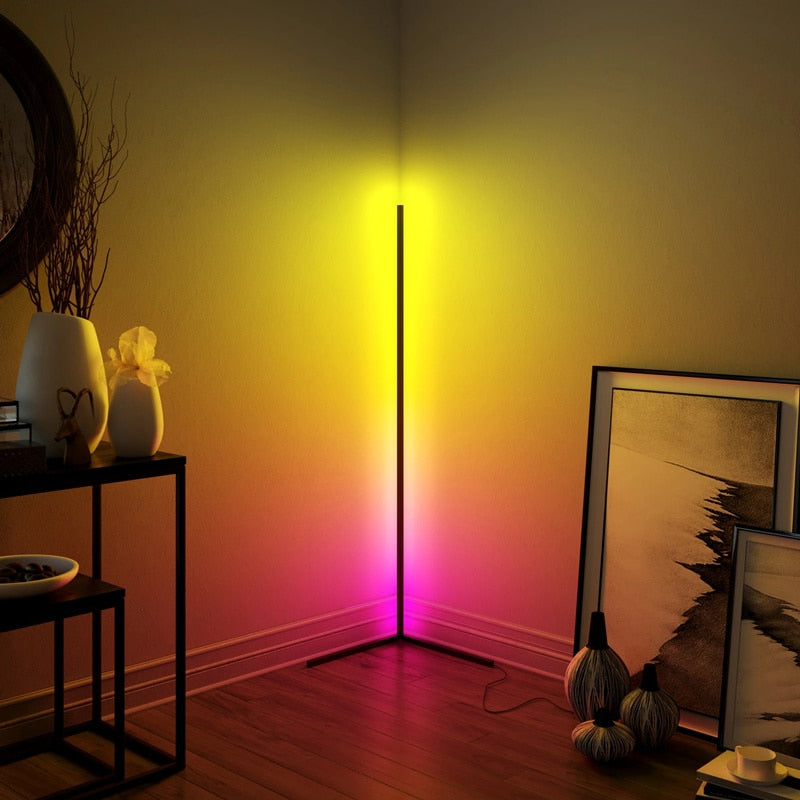 Minimalist Corner Floor Lamp For Living Room
