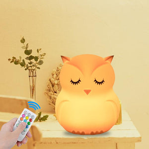 USB Owl LED Night Light