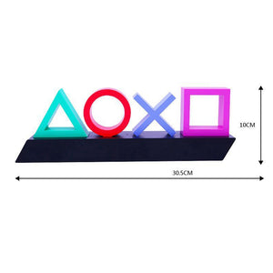 USB Neon Acrylic Game LED Light (Voice Control)