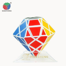 Load image into Gallery viewer, 3x3x3 Axis Shape cube Diamond Hexagonal Dipyramid Stone
