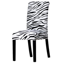 Load image into Gallery viewer, Zebra Print Chair Covers