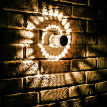 Load image into Gallery viewer, RGB Spiral Hole LED Wall Light