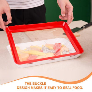Creative Reusable Food Preservation Tray