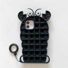 Load image into Gallery viewer, Pop It Fidget iPhone Case For Relieving Stress
