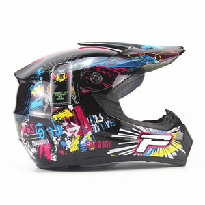 Full Face Customised Racing Helmets - Perfenq