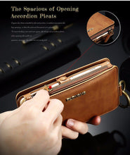 Load image into Gallery viewer, 8 in 1 Multi-Function iPhone Wallet Case - Perfenq