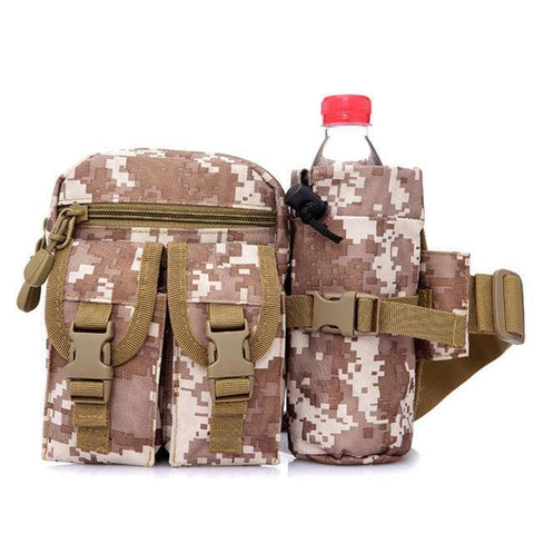 Outdoor Military Tactical Waist & Shoulder Bag