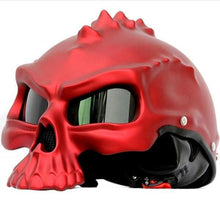 Load image into Gallery viewer, Skull Motorcycle Helmet - Perfenq
