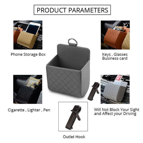 Universal Car Storage Box - Perfenq