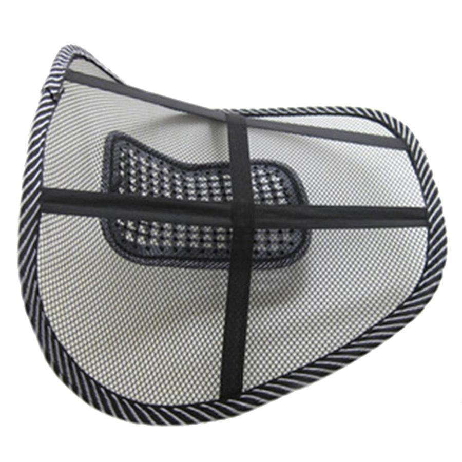 Breathable Mesh Lumbar Support for Car Seat or Office Chair - Perfenq