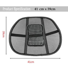 Load image into Gallery viewer, Portable Lumbar Support for Office Chair / Car Seat - Perfenq