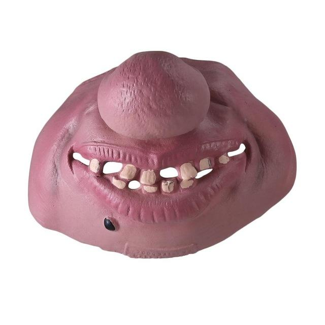 Halloween BIG Fat Nose Face Mask - Perfenq