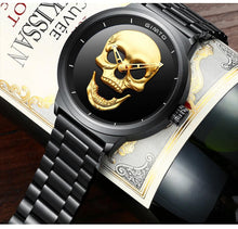 Load image into Gallery viewer, 3D Luxury Skull Watch for Men - Perfenq