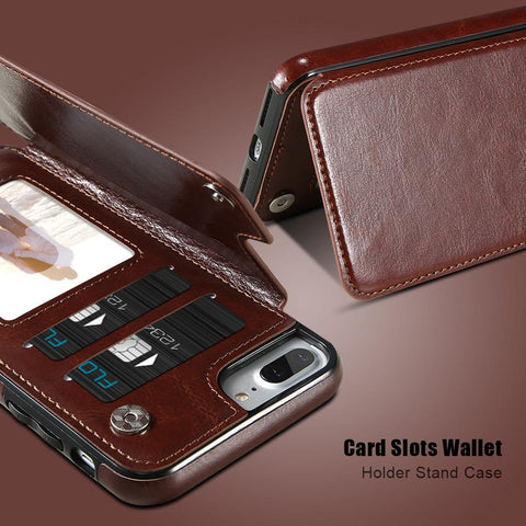 Image of 3 in 1 Wallet Flip Case for iPhone - Perfenq