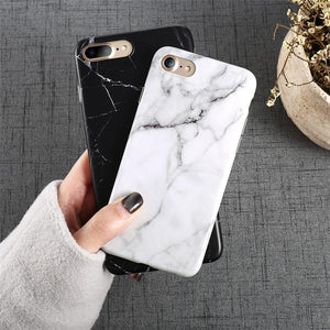 Marble Pattern iPhone Case (for All iPhones) - Perfenq
