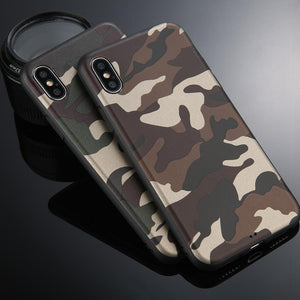 Army Green Camouflage Case For all iPhones - Perfenq