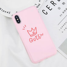 King Queen iPhone Case for Couples (All iPhones)