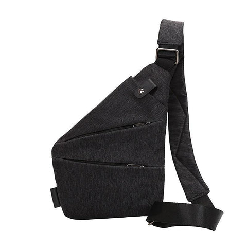 Image of Anti Theft Single Shoulder Compact Crossbody Bag for Men - Perfenq