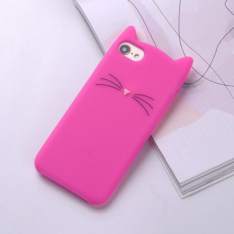 Image of Cat Case for All iPhones - Perfenq