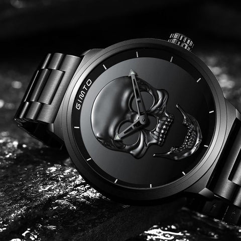 3D Luxury Skull Watch for Men