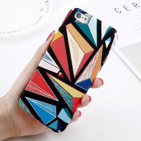 Abstract Marble Case for iPhone 8