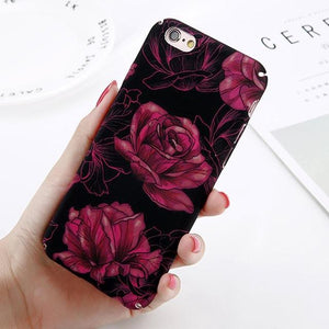 Abstract Marble Case for iPhone 8 & iPhone 8 Plus - Perfenq