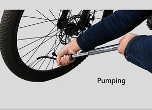 Multi-Purpose Mini Portable Bike Pump - Perfenq