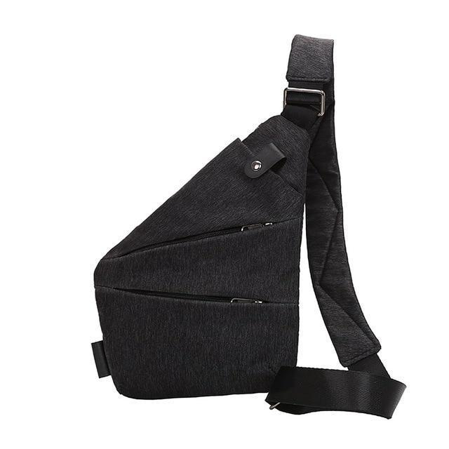 Anti Theft Single Shoulder Compact Crossbody Bag for Men - Perfenq
