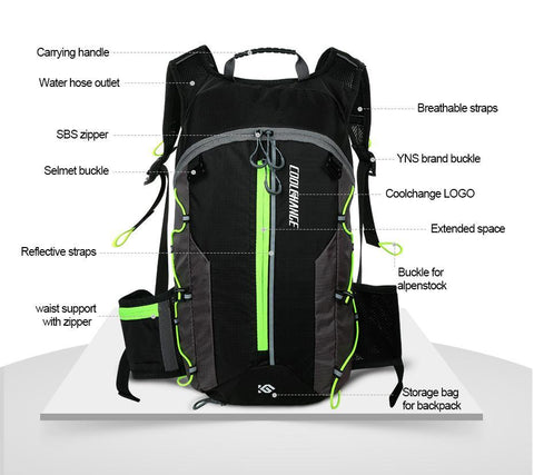 10L Breathable Waterproof Backpack for Cycling, Camping & more! - Perfenq