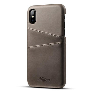 iPhone XS, XS Max & XR Slim PU Leather Case (Now for all iPhones)