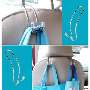 Metal Headrest Hook - Perfenq