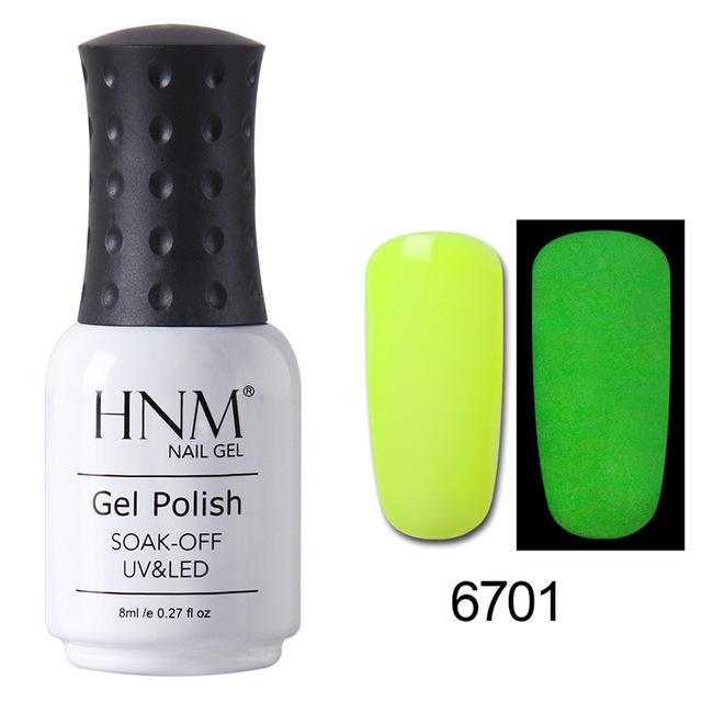 Glow in the Dark Nail Polish - Luminous Colors
