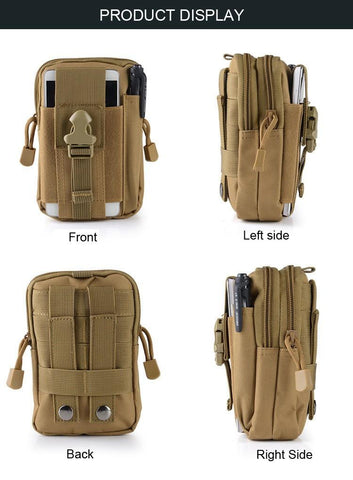 "Image of Universal Tactical Waist Belt Bag / Pouch / Wallet (For Up to 6.2"" Phones)"