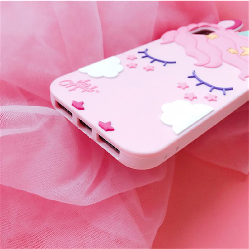 3D Unicorn Phone Case for iPhone & Samsung Galaxy Smartphones - Perfenq